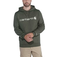 Bluza Carhartt Force Delmont Hooded Sweat Moss